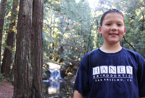 Young Haney Orthodontics patient in San Anselmo, CA
